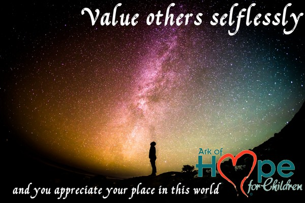 Value Others Selflessly 600