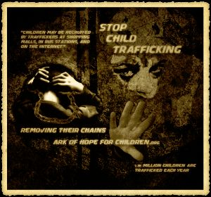 US and international child trafficking statistics from Ark of Hope for Children